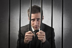 Guilty businessman
